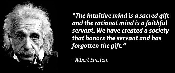 Anthony J. D'Angelo o intuicji
